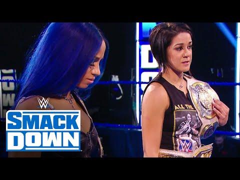 Stephanie McMahon sets SummerSlam fate for Bayley & Sasha Banks: SmackDown, August 7, 2020