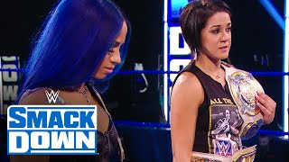 Stephanie McMahon sets SummerSlam fate for Bayley & Sasha Banks: SmackDown, August 7, 2020