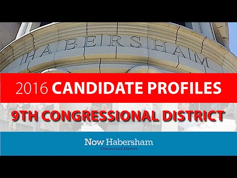 2016 Candiate Profiles: Congress 9th District