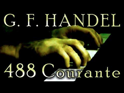 George Frideric HANDEL: Courante in F major, HWV 488