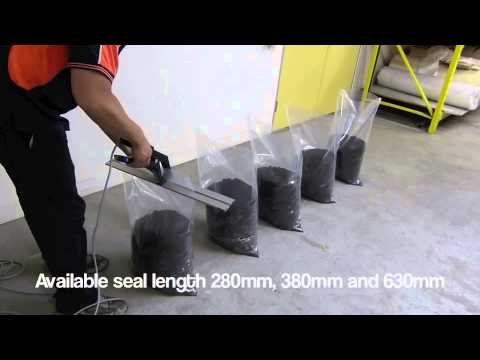 Super Poly Hand Held Heat Sealer By Venus Packaging Australia