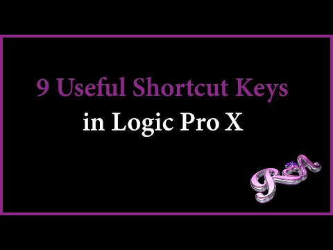 Logic Pro X Tutorial - 9 Useful Shortcut Keys