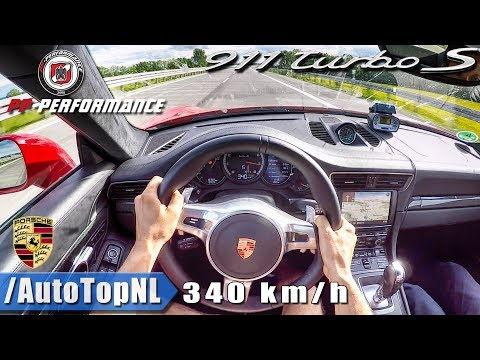 340km/h AUTOBAHN POV | 750HP Porsche 911 Turbo S PP PERFORMANCE by AutoTopNL