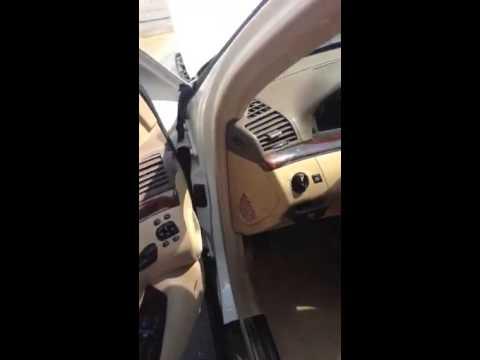 2004 Mercedes Benz S500 4Matic W220 - Alarm Lights Flashing - YouTube