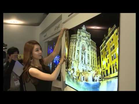 LG Amazing TV -Thinner than a Credit Card!!!!