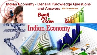 General Knowledge Questions and Answers- Indian Economy