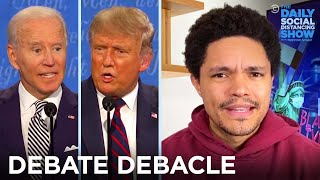 "Trump ""Stands by"" White Supremacists in Off-the-Rails Debate 