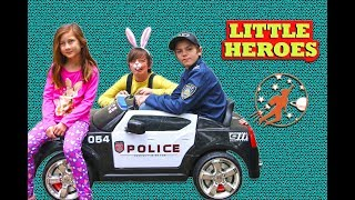 Little Heroes Rescue Squad 5 - The Kid Police Heroes, WorryWart, and The Stealer