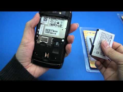Blackberry Storm 2 9550 9520 1650mAh Mugen Power Extended Battery [HLI-9500SL]