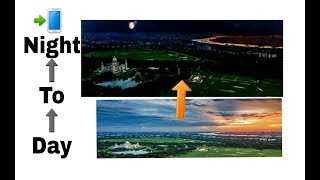 How to do day to night photo editing,,Day become night photo editing