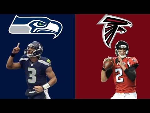 SEATTLE SEAHAWKS VS ATLANTA FALCONS PLAYOFF SIMULATION!! WATCH WHAT HAPPENS!! (HIGHLIGHTS)