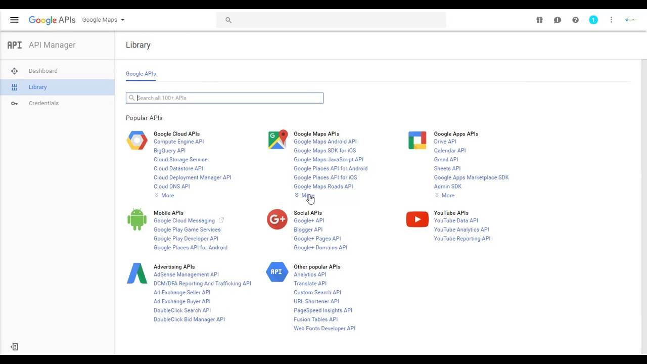 how to get an api key for google maps . how to get an api key for google maps   youtube