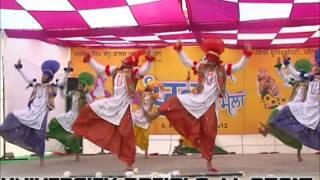 BHANGRA RIFAC BOYS: MAHINDRA COLLEGE PATIALA (WINNER TEAM OF PATIALA ZONE 2012)