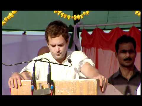 Shri Rahul Gandhi addressing the UP Election Rally at Nanpara, Bahraich.mp4