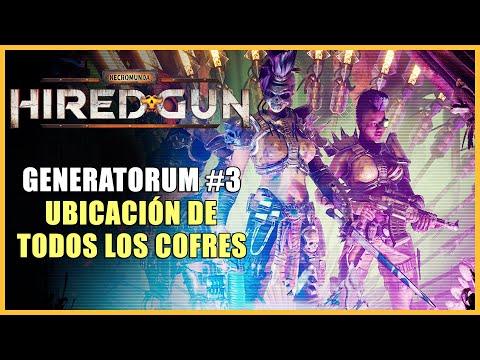 Necromunda: Hired Gun - Todos los cofres de Generatorum - Capítulo 3