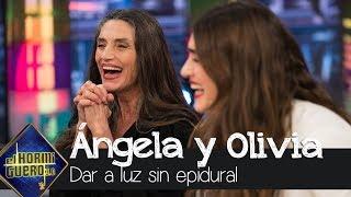Ángela Molina habla sobre dar a luz sin epidural - El Hormiguero 3.0
