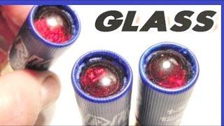 Glass Bullets - Will they work? -  Weird Shotgun Load