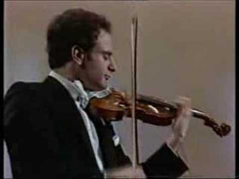 Paganini caprice #24 (violinist - Mark Kaplan)