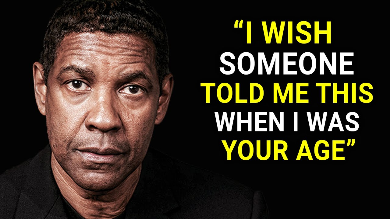 Download Denzel Washington's Life Advice Will Leave You Speechless (MUST WATCH)