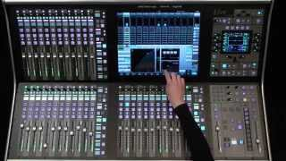 ssl live console overview in spanish