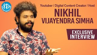 Youtuber, Digital Content Creator, & Host Nikhil Vijayendra Simha Interview | Dil Se with Anjali