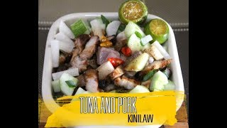 Kinilaw na Baboy at Fresh Tuna | Pork And Tuna Kinilaw Recipe