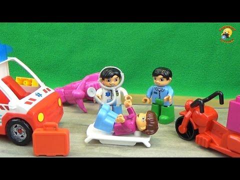 Детский конструктор «Чрезвычайная ситуация». Правила безопасности на дороге. Play set building kit