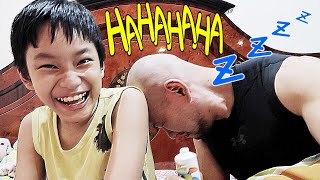 Prank Deddy Corbuzier by his own Son MEEEE