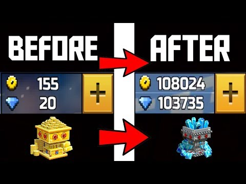 GET UNLIMITED GEMS AND COINS GLITCH ON PIXEL GUN 3D BY DOING THIS
