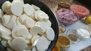 नये तरीके से बनाये अरबी की सब्जी Arbi Masala Recipe- Arbi ki Sabzi-Arbi ki Rasili Sabji-Arbi Curry