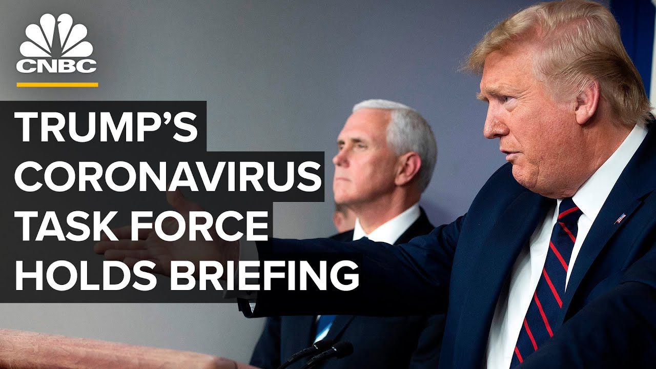 WATCH LIVE: Trump's coronavirus task force holds briefing as outbreak widens – 3/30/2020