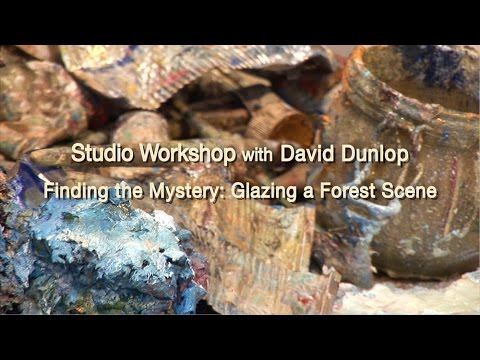 Finding the Mystery:  Glazing a Forest Scene in Oil