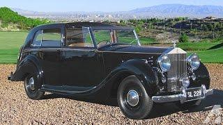 1948 Rolls Royce Silver Wraith Sedanca De Ville By H. J. Mulliner