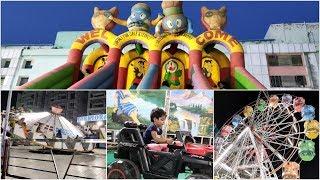 Kids Carnival Fun Fair - Rides, Carousels, Sliders, Coasters, Giant Wheels