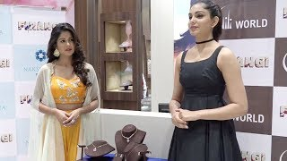 Firangi Actress Ishita Dutta & Monica Gill Promote Their Film At Gitanjali Jewellers Store Launch