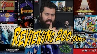 Reviewing 200 Games