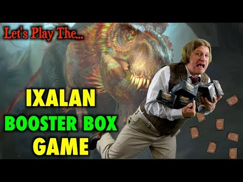 MTG - Let's Play The Ixalan Booster Box Game for Magic The Gathering (LAUNCH)