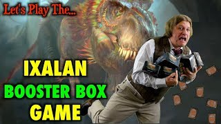 mtg lets play the ixalan booster box game for magic the gathering launch