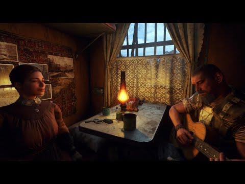 METRO EXODUS ost on Acoustic Guitar   TABS   RACE AGAINST FATE   Aleksandr Chuiko   Guitar Me School