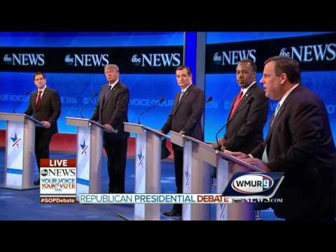 2016 GOP Debate: Christie blasts Rubio about his readiness - 'That's not leadership, that's truancy'