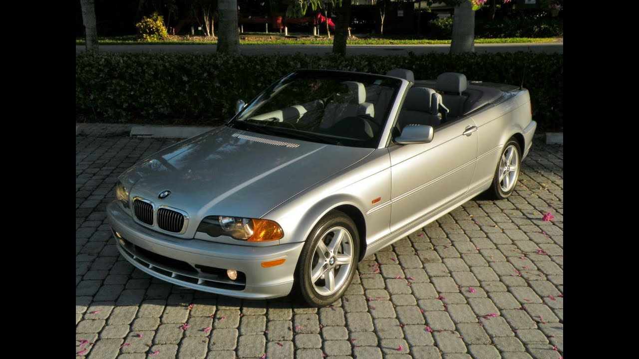 2002 Bmw 3 Series 325ci Convertible Fort Myers Florida For