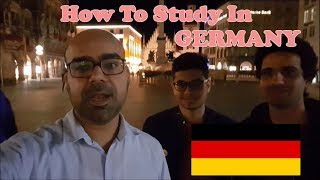 How To Study in Germany For Free