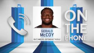 Tampa Bay Buccaneers DE Gerald McCoy on How Jameis Winston Has Changed - 12/15/16