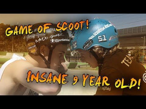 GAME OF SCOOT! JORDAN CLARK VS INSANE 9YR OLD