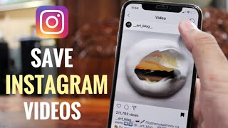 Gambar cover How To Save Instagram Video To Cameraroll On IPhone Easy 2019