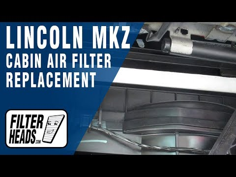 How to Replace Cabin Air Filter 2012 Lincoln MKZ