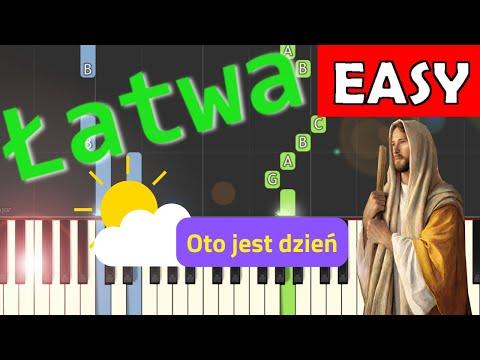 🎹 Oto jest dzień - Piano Tutorial (łatwa wersja) 🎹