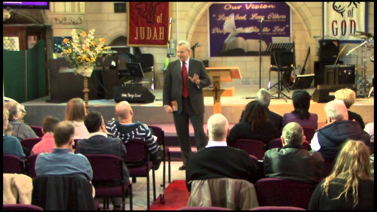 Kevin Fletcher preaching at Rhema Faith Church,UK