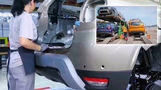 Dacia Duster car production 2018 - The whole process of fabrication Dacia Duster II   HOW IT