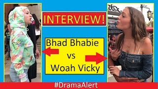 Bhad Bhabie vs Woah Vicky #DramaAlert (INTERVIEW) with WOAH VICKY!
